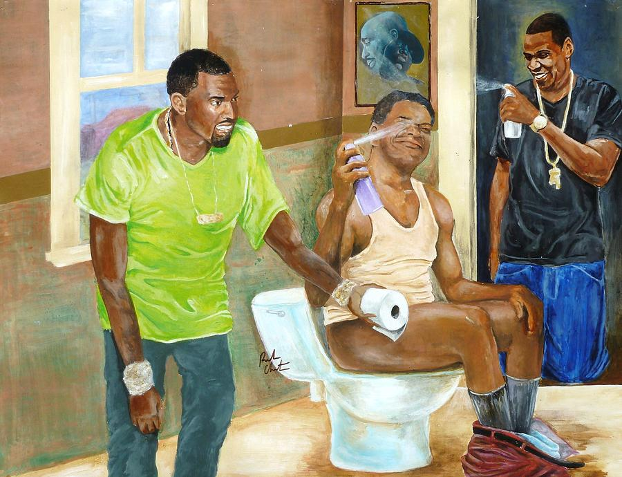 Watch The Throne Painting  - Watch The Throne Fine Art Print