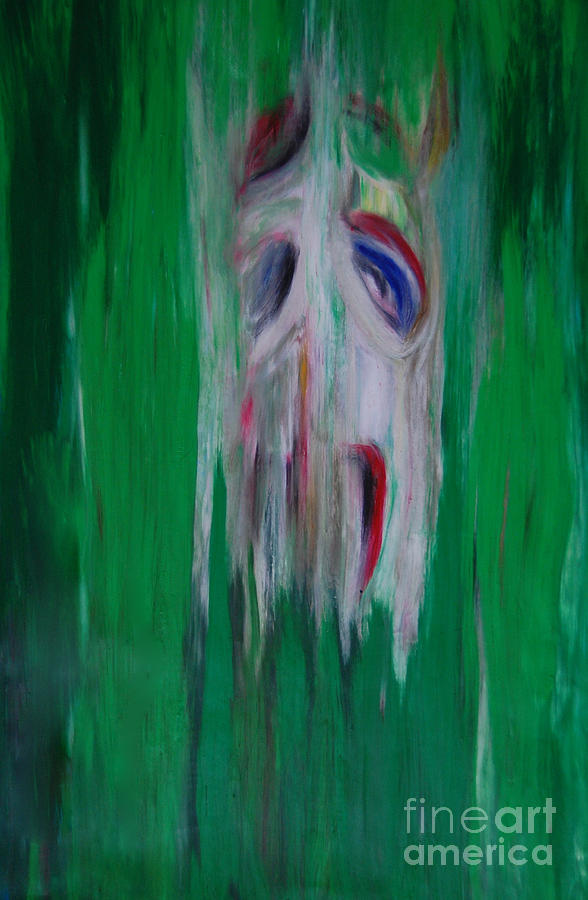 Watcher In The Green Drawing