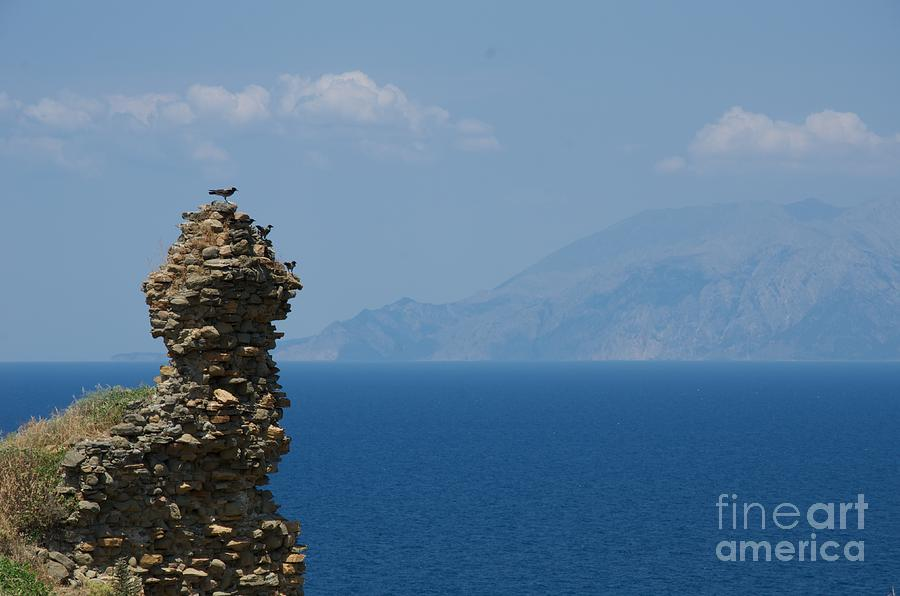 Watching Samothraki Island Photograph