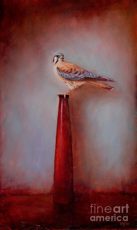 Watchtower - American Kestrel  Painting