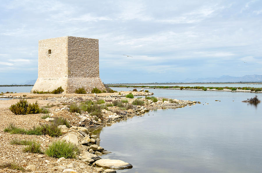 Watchtower In The Salt Lakes Photograph
