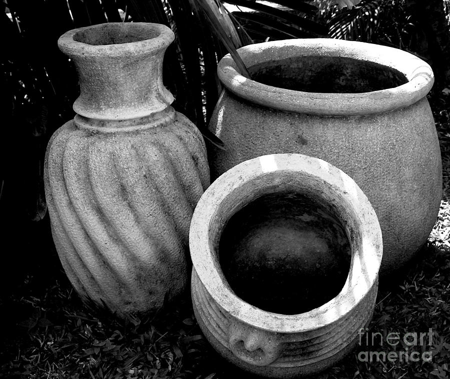 Water Jugs Photograph  - Water Jugs Fine Art Print
