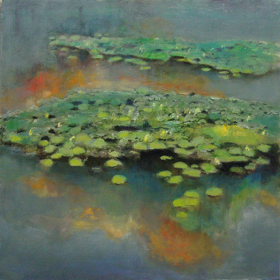 Water Lilies 2 Painting