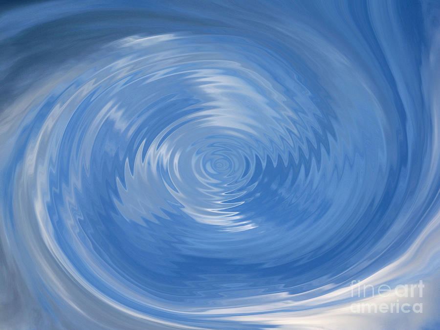 Water Ripple Painting by Kristen Pagliaro