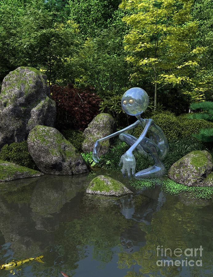 Water Spirit Digital Art