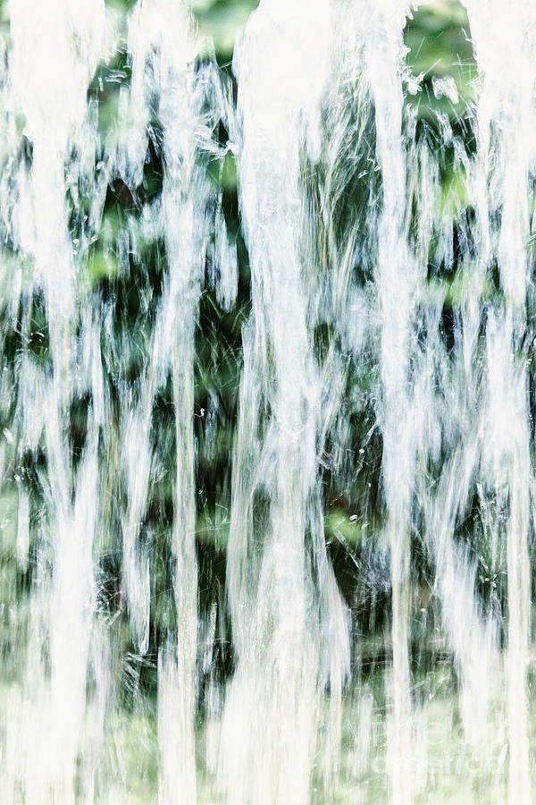 Water Spray Photograph  - Water Spray Fine Art Print