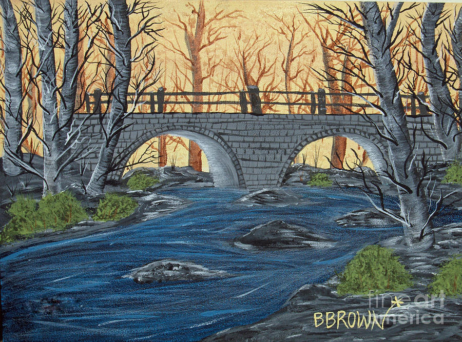 Water Under The Bridge Painting