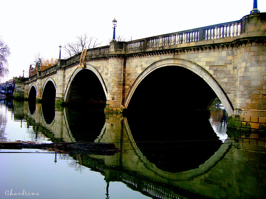 Water Under The Bridge Photograph