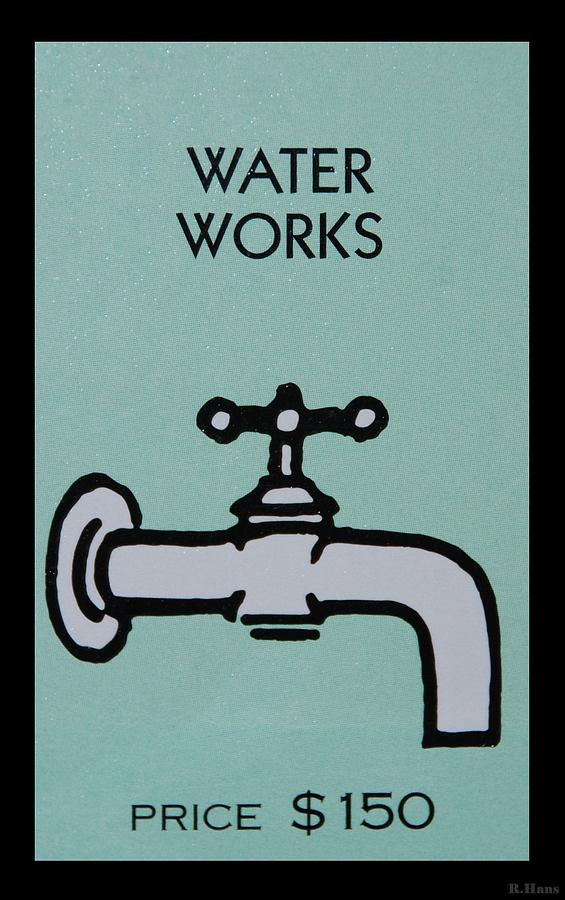 Water Works Photograph  - Water Works Fine Art Print