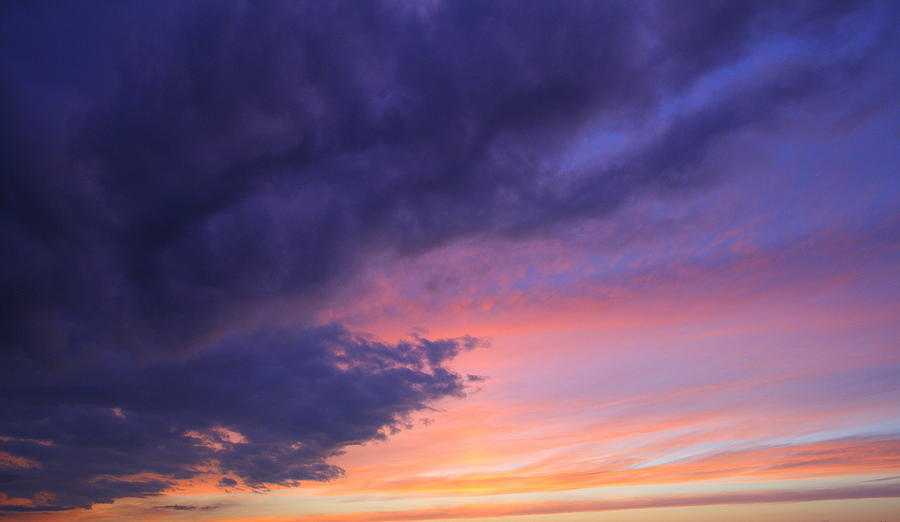 Watercolor Sky  Photograph  - Watercolor Sky  Fine Art Print