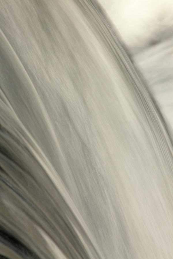 Waterfall Abstract Photograph  - Waterfall Abstract Fine Art Print