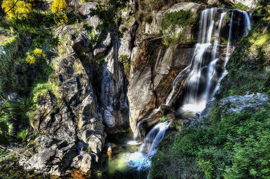 Waterfall IIi Photograph  - Waterfall IIi Fine Art Print