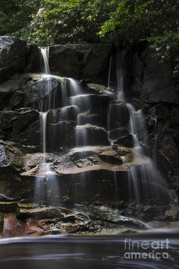 Waterfall On Small Stream Photograph