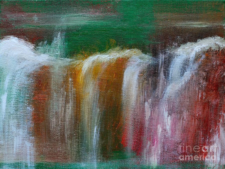 Waterfalls Painting