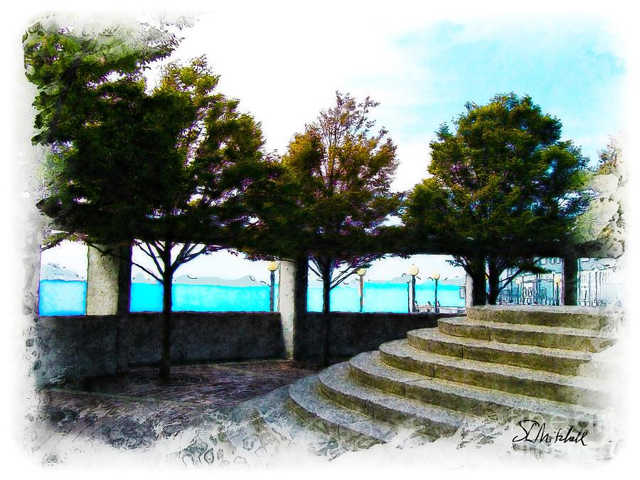 Waterfront Park Digital Art