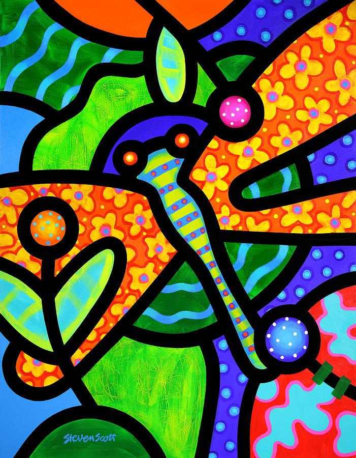 Watergarden Painting