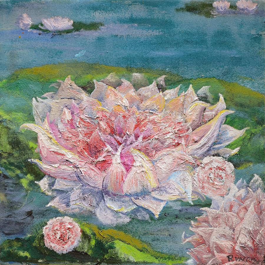 Waterlily Painting  - Waterlily Fine Art Print