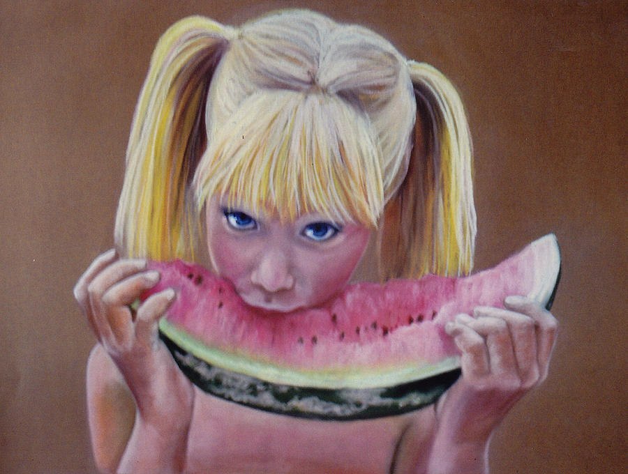 Watermelon Bite Pastel