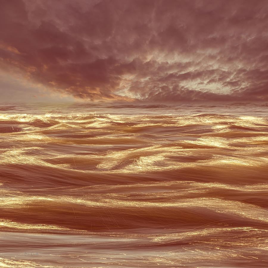 Abstract Photograph - Waterscape Number Seven by Bob Orsillo