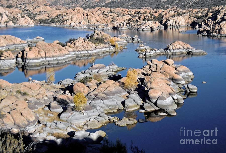 Watson Lake And The Granite Dells Photograph