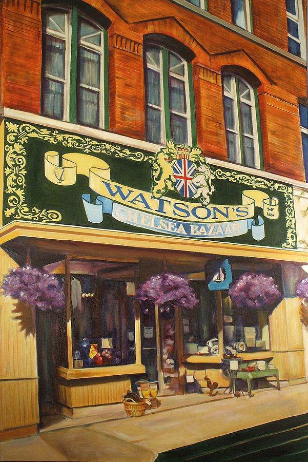 Watsons Chelsea Bazaar Painting