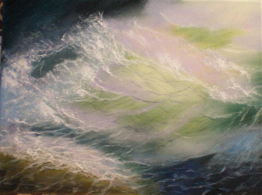 Wave Painting - Wave by Elena Sokolova