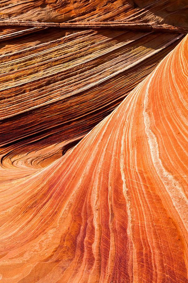 Wave Lines Photograph