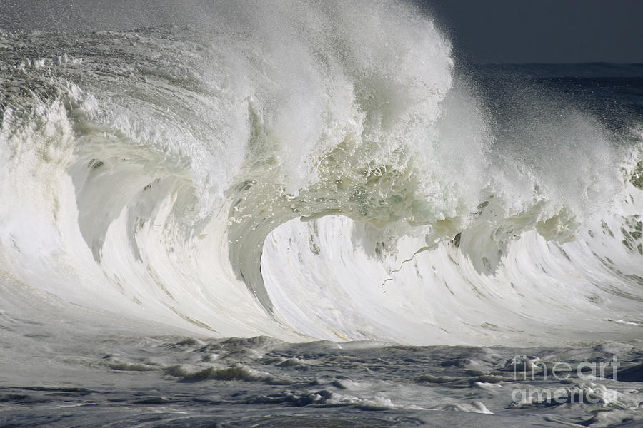 Beautiful Photograph - Wave Whitewash by Vince Cavataio