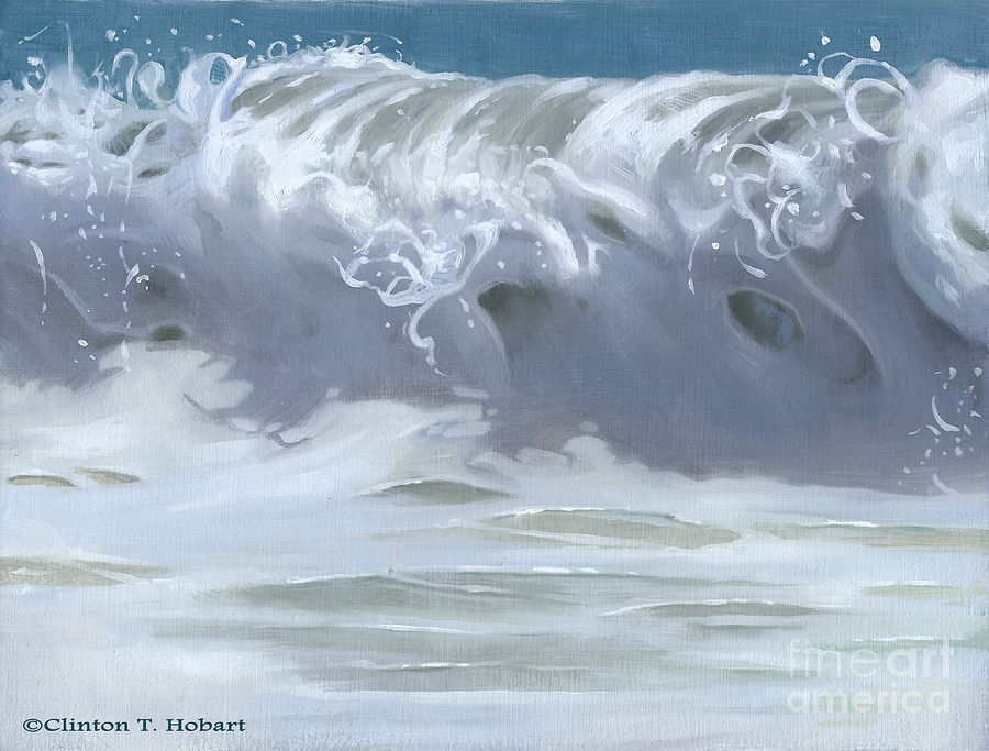Wave Painting - Wave Xiii by Clinton Hobart