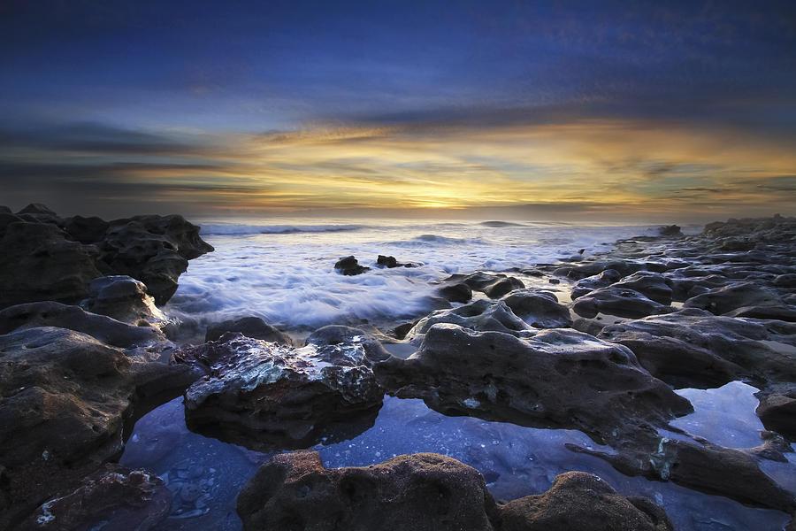 Waves At Coral Cove Beach Photograph