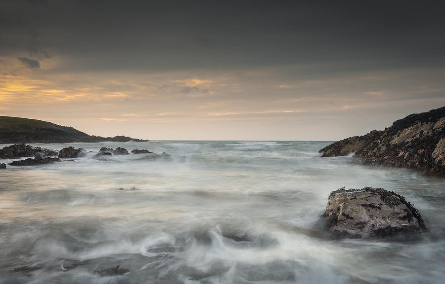 Bay Photograph - Waves In Motion by Andy Astbury