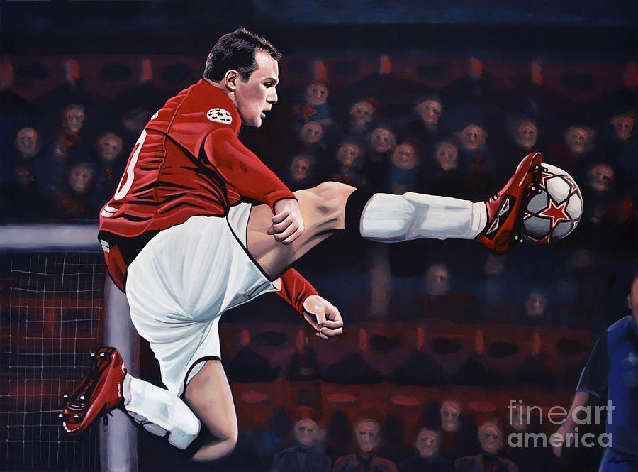 Wayne Rooney Painting - Wayne Rooney by Paul Meijering