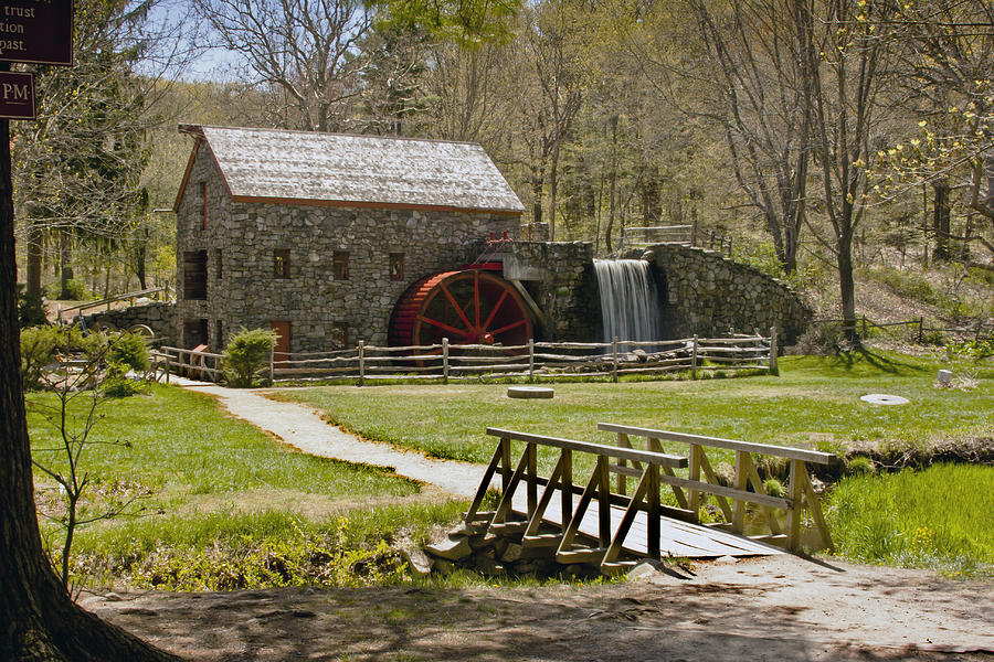 Wayside Grist Mill 8 Photograph