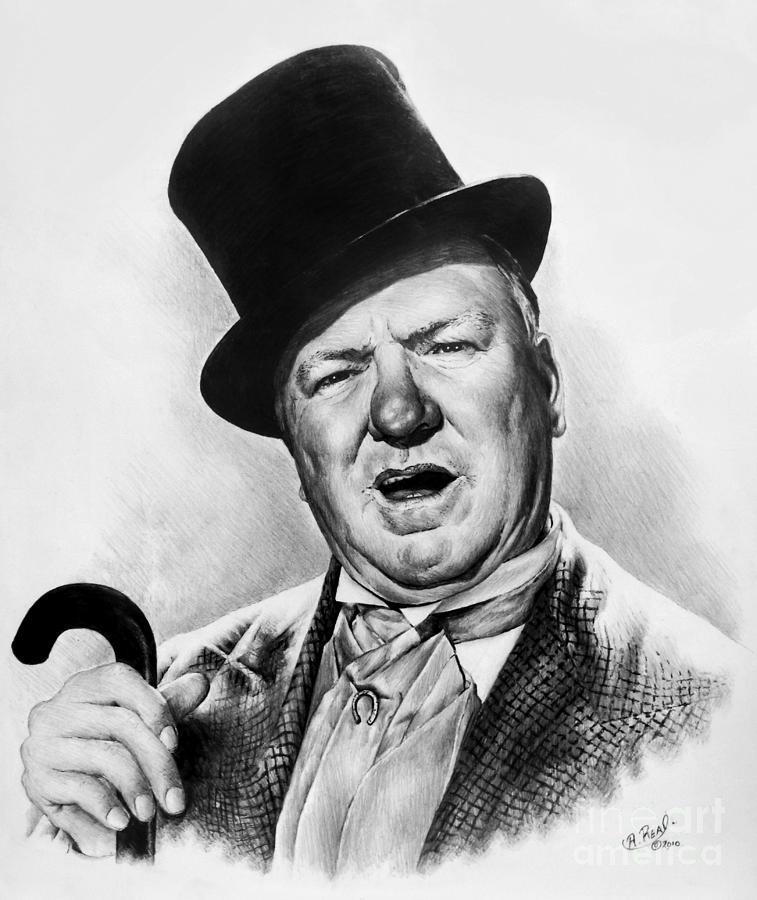 Wc Fields My Little Chickadee Drawing
