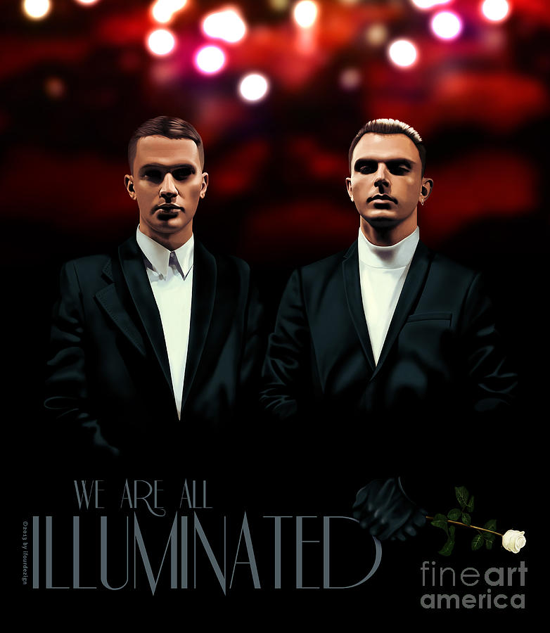 We Are All Illuminated - Hurts Digital Art