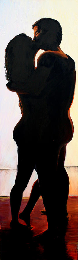 Nudes Painting - We Is by Alan Schwartz