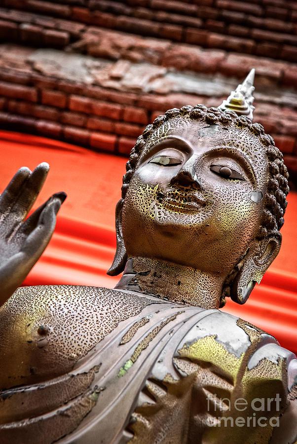 Buddha Photograph - Wear-and-tear Buddha by Dean Harte