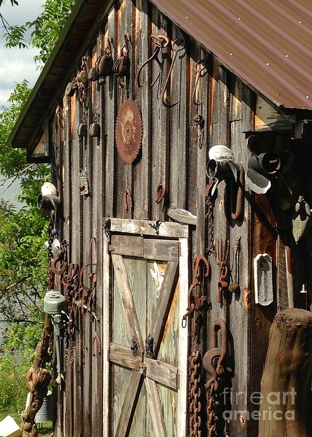 Weathered Cabin Charm Photograph