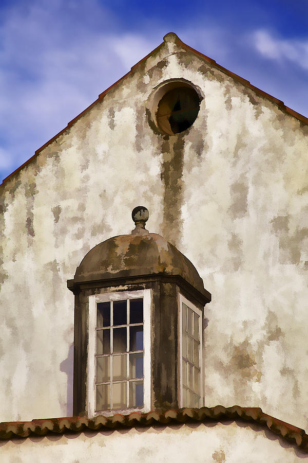 Weathered Home Of Old World Europe Photograph  - Weathered Home Of Old World Europe Fine Art Print