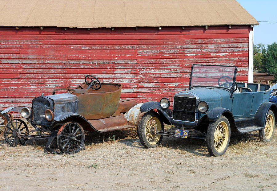 Old Cars Photograph - Wed Fight And Never Lose by Kay Gilley