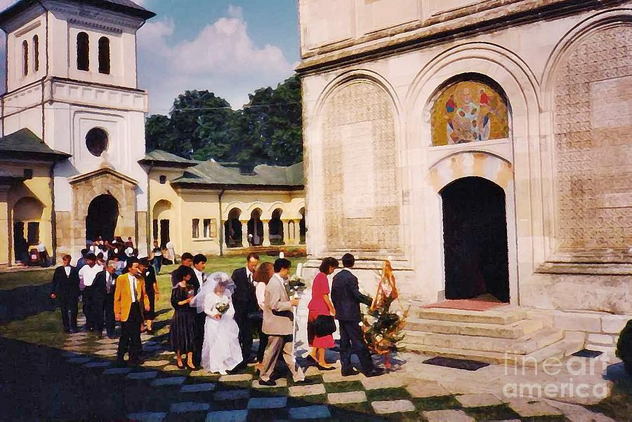 Wedding Procession In Muntenia Photograph