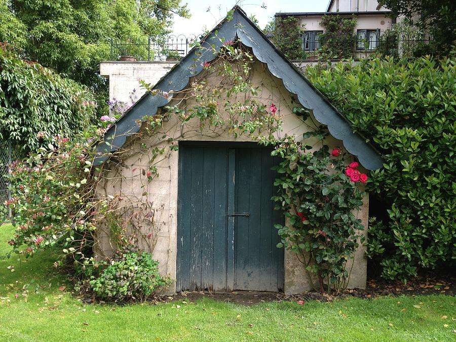 Garden Shed Ideas Ireland : Ireland Photograph  Wee Irish Garden Shed by Mary Elizabeth Caverly