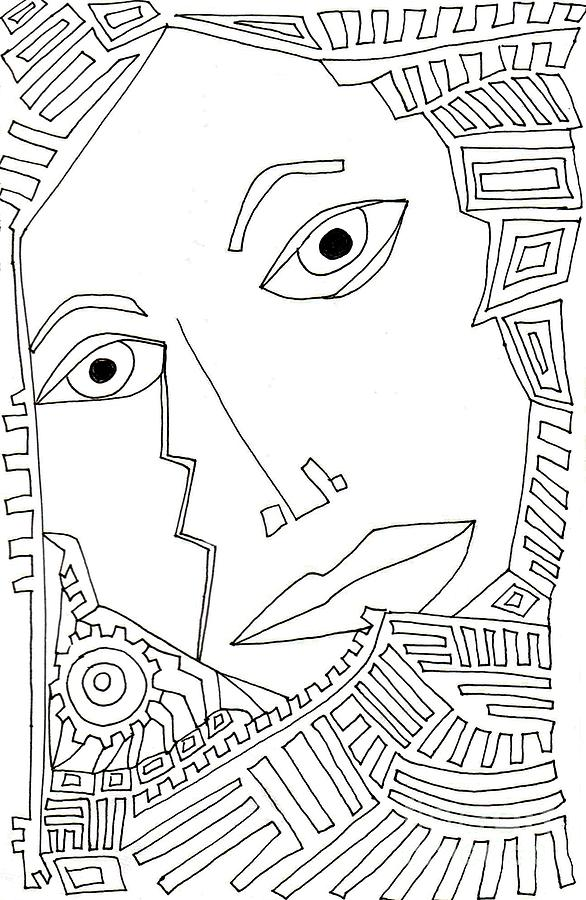 Weeping Woman Drawing