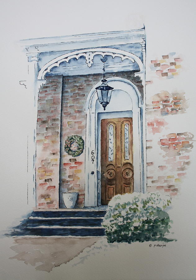 Welcome Christmas Painting