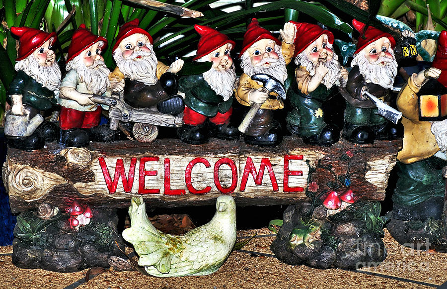 Welcome From The Seven Dwarfs Photograph