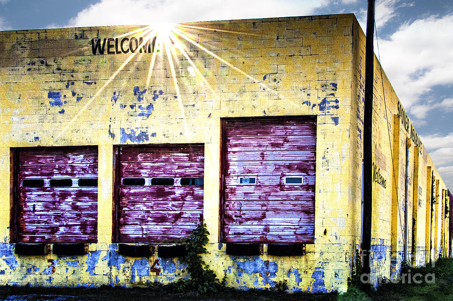 Welcome Photograph  - Welcome Fine Art Print