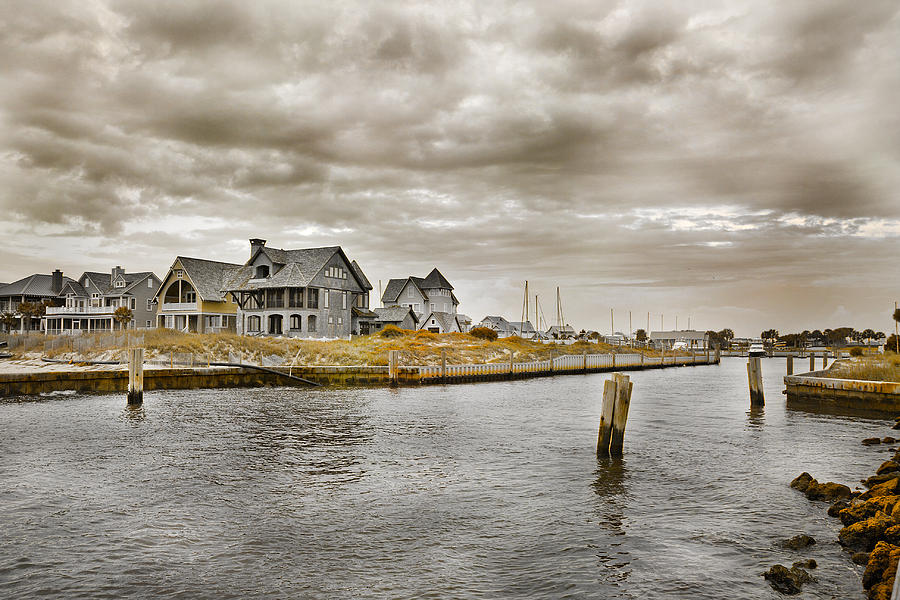 Welcome To Bald Head Island Photograph  - Welcome To Bald Head Island Fine Art Print