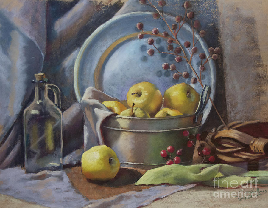 Apples Painting - Well Said by Jennifer Himes