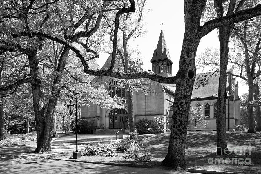 Wellesley College Houghton Chapel Photograph  - Wellesley College Houghton Chapel Fine Art Print