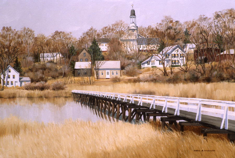 Wellfleet Golden Morn Painting